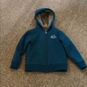 Quicksilver Boys Sherpa-Lined Hoodie